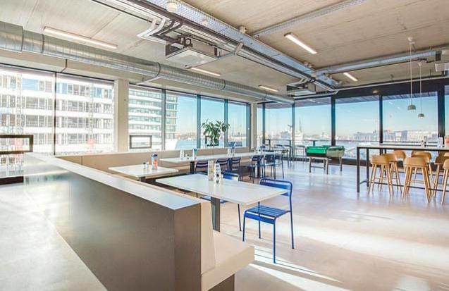 新兴科技公司办公室装修效果图